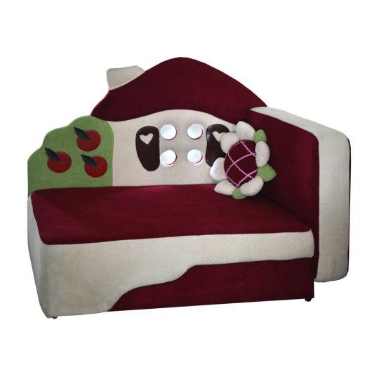 Детский диван Теремок с подсветкой