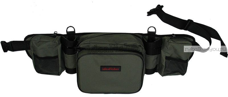 Купить Stakan-8 ОЛИВА Пояс–держатель удилища + сумка спиннингиста
