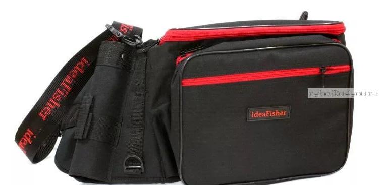 Купить Stakan-8 ЧЕРНЫЙ Пояс–держатель удилища + сумка спиннингиста