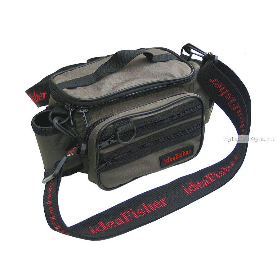 Купить Stakan-100 Лайтовик ОЛИВА Шейно-поясная сумка с держателем удилища