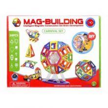 Магнитный конструктор MAG-BUILDING - 58 деталей!