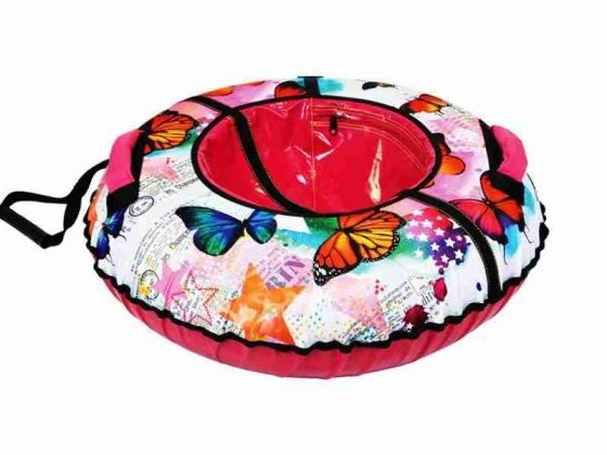 Тюбинг для девочки Ника ТБ2К Бабочки