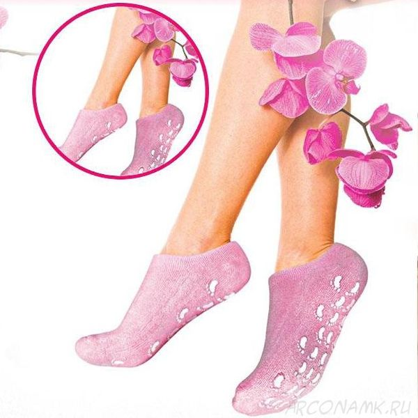 Увлажняющие гелевые носочки SPA Gel Socks