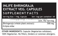 Брингарадж в капсулах для здоровья волос Инлайф | INLIFE Bhringraja Extract Supplement