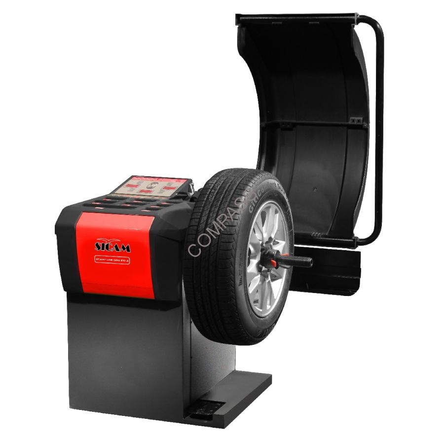 Балансировочный стенд полуавтоматический Sicam (Германия) арт. SBM210A