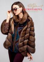 стильная автоледи куртка соболь купить из баргузинского соболя фото отзывы цена