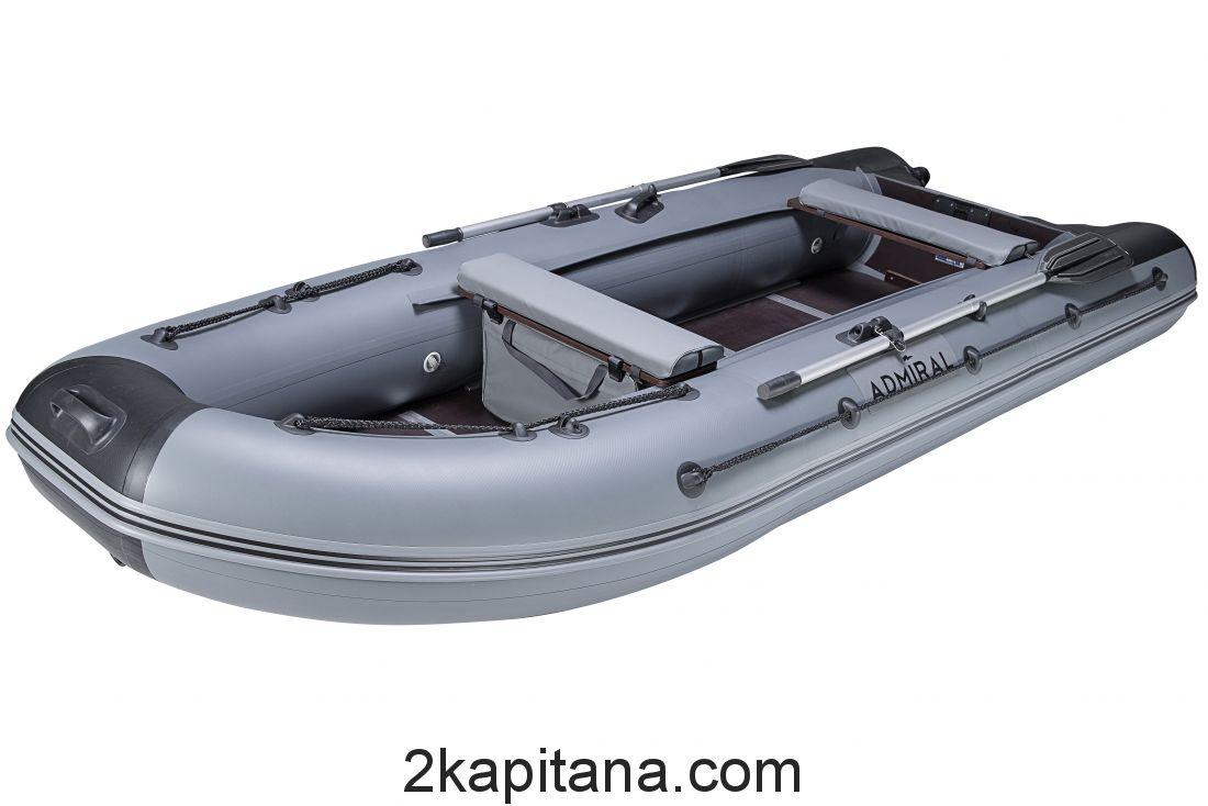 Лодка Адмирал ПВХ надувная 375S