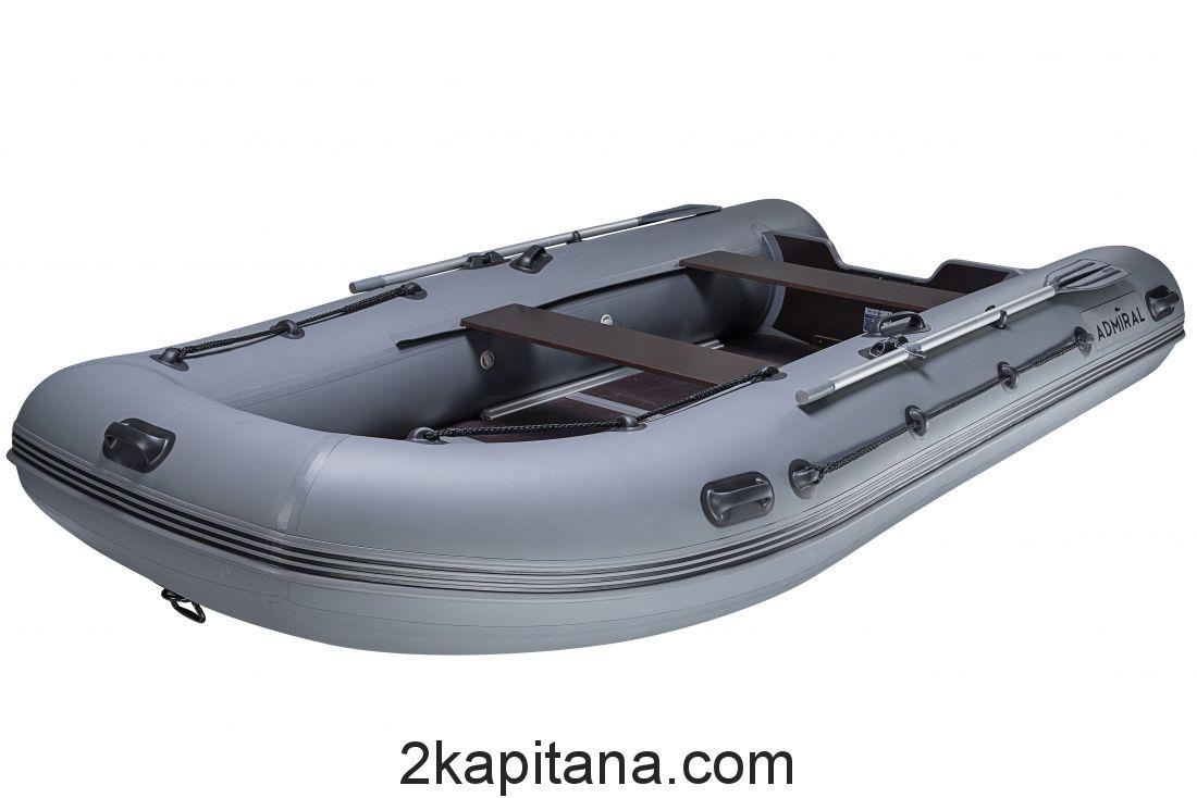 Лодка Адмирал ПВХ надувная 380
