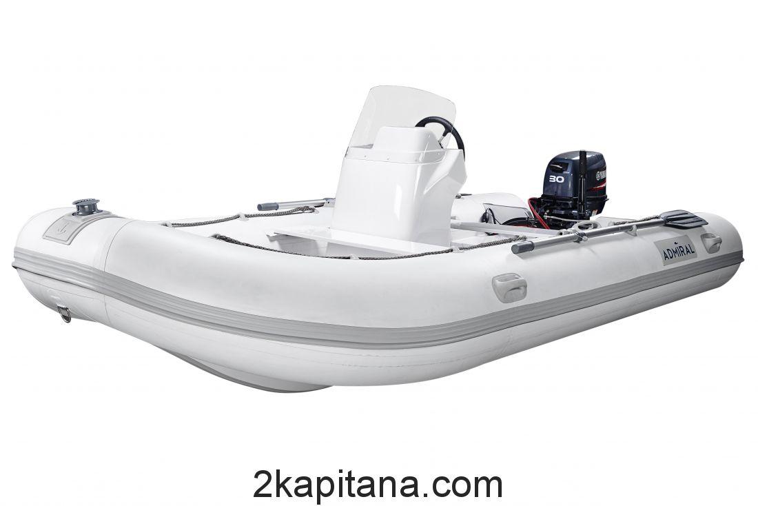 Лодка RIB Адмирал 410