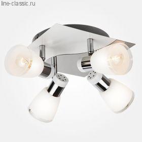 СПОТ ES 20048/4 белый/хром