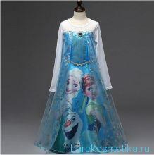 Новогоднее платье для девочки 110, 130 см