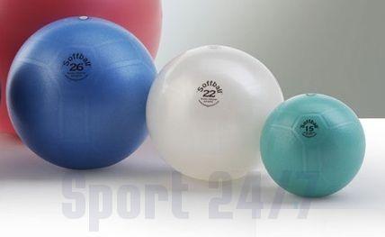 Пилатес-мяч LEDRAGOMMA Softball MAXAFE 22 см
