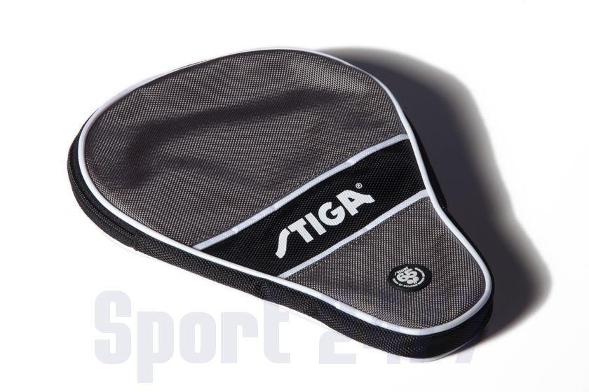 Чехол по форме ракетки Stiga Style (черно-серый)
