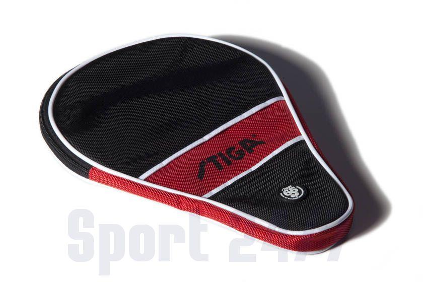 Чехол по форме ракетки Stiga Style (черно-красный)