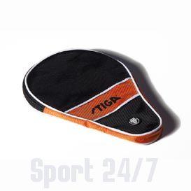 Чехол по форме ракетки Stiga Style (черно-оранжевый)