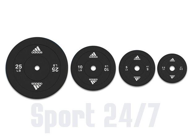Весовые диски Adidas (30 мм, 2,5 кг) Арт. ADWT-10256