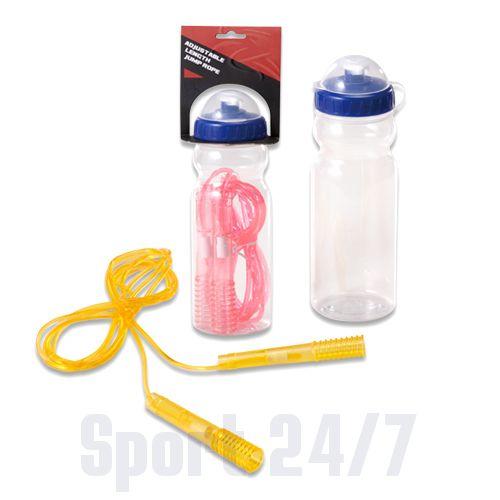 Скакалка в комплекте с бутылочкой для воды Spirit Fitness