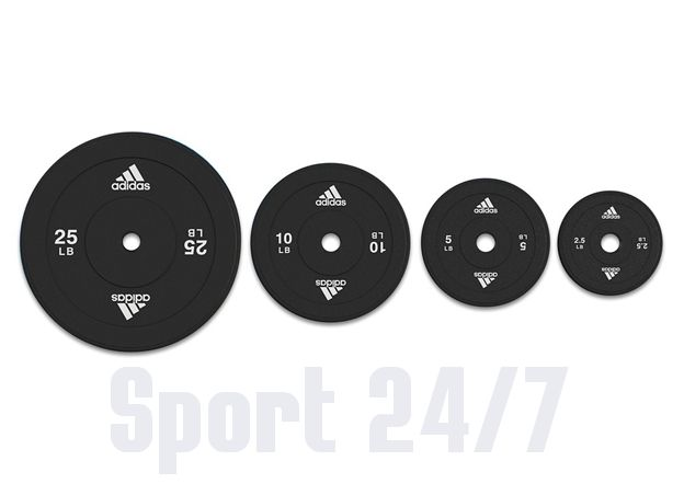Весовые диски Adidas (30 мм, 5 кг) Арт. ADWT-10262