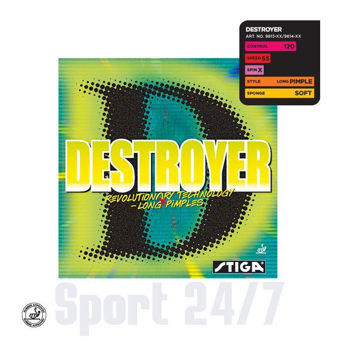 Накладка Stiga Destroyer (длинные шипы)