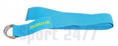 Ремень для йоги (эластичный) REEBOK RAYG-10023CY-голубой