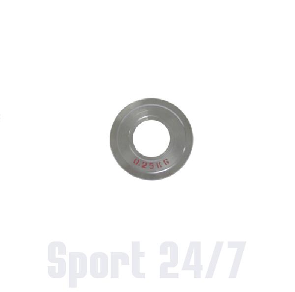 Диск стальной Паурлифтинг DHS 0,25кг (Д-51-мм)