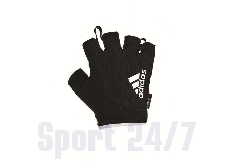 Перчатки для фитнеса ADIDAS ADGB-12321WH(черный/белый)