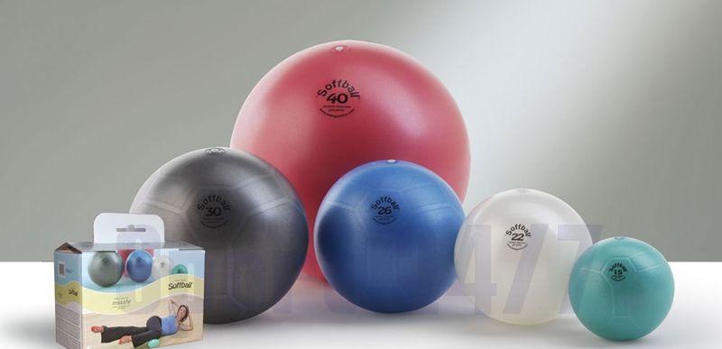 Пилатес-мяч LEDRAGOMMA Softball MAXAFE 30 см