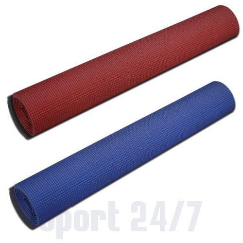 Коврик для йоги Body-Solid BSTYM5 (5 мм х 183см х 61см, красный)
