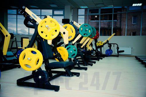 Олимпийские обрезиненные диски, серия ALEX P-RO P-TPU-1.25K
