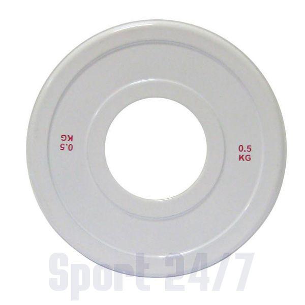 Диск стальной Паурлифтинг DHS 0,5кг (Д-51-мм)