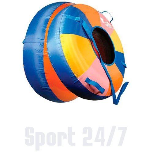 Сноутьюб Барс СТАНДАРТ большой разноцветный диам 0,95м в коробке арт. 28260573