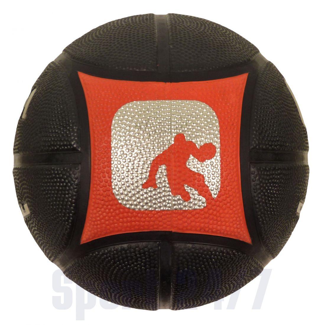 Баскетбольный мяч AND1Outlaw Black/Red