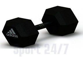 Гантель гексагональная Adidas, 10 кг Арт.ADWT-10343