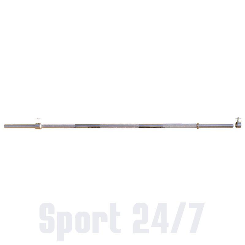 Тренажер - гриф тренировочный с замками, хромированный СТ - 510 V-sport