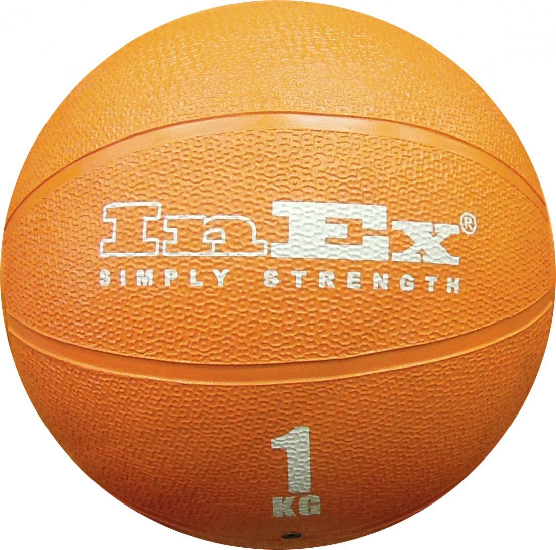 IN/MBR-1 Мяч набивной медицинский 1 кг InEx