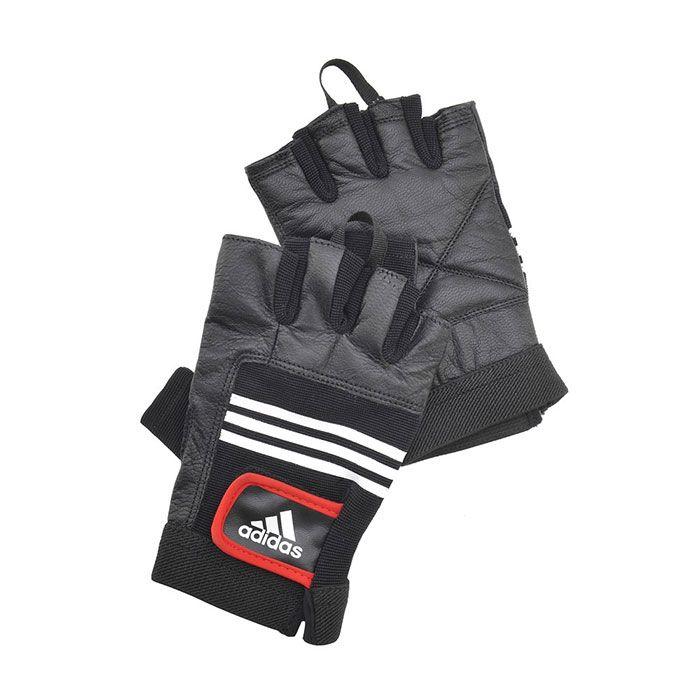 Перчатки тяжелоатлетические (кожа) Артикул:ADGB-12124 – размер S/M