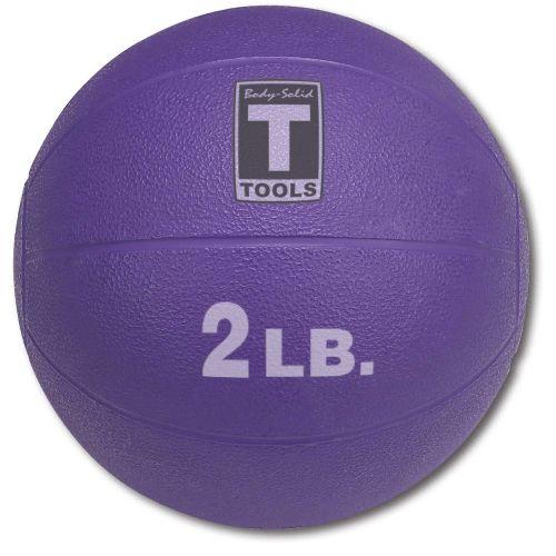 Медицинский мяч 2LB / 0.9 кг пурпурный BSTMB2 Body-Solid