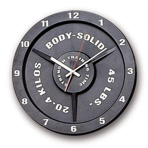 Часы настенные в форме олимпийского диска Body-Solid STT45