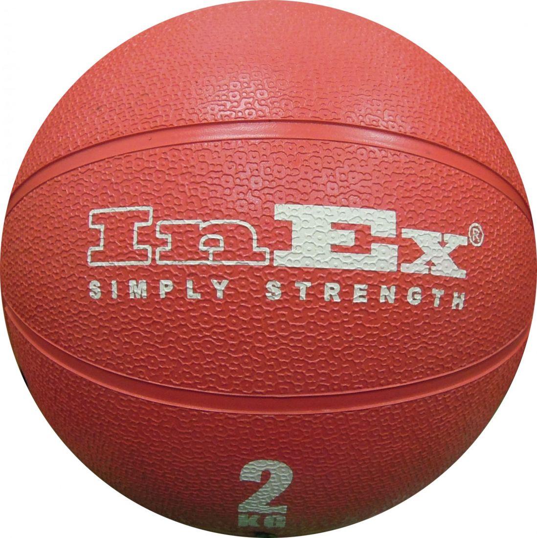 IN/MBR-2 Мяч набивной медицинский 2 кг InEx