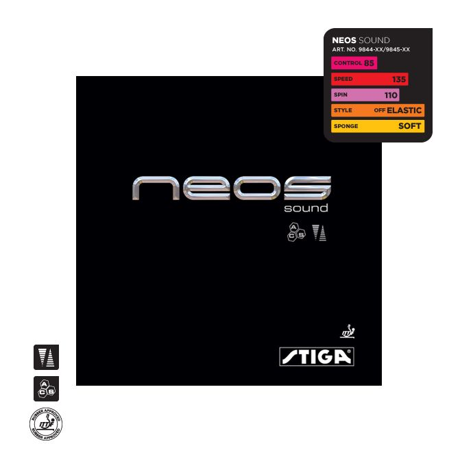 Накладка Stiga  Neos  Sound