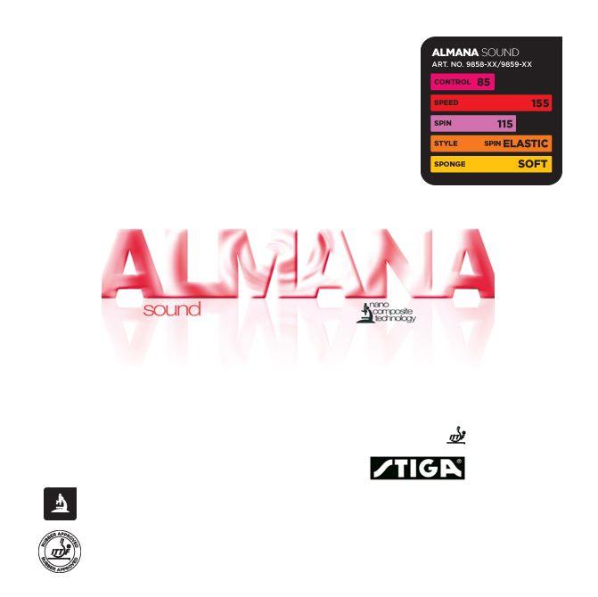 Накладка Stiga  Almana Sound