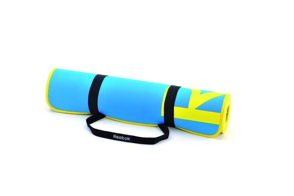 Коврик для фитнеса REEBOK RAMT-11024CY(голубой)