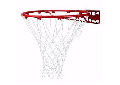 Баскетбольное кольцо Spalding Standart (красное) Арт.7811SCNR