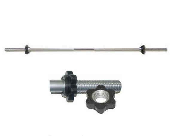 Гриф для штанги прямой MB Barbell Длина 125см. Д-30-мм