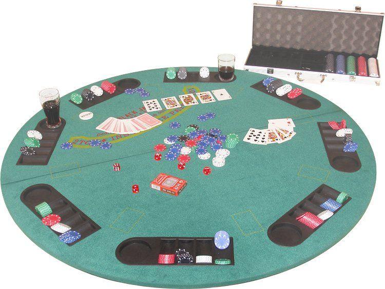 Складной стол для игры в покер 50.030.08.0_D