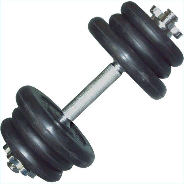 Гантель разборная 17 кг , гриф L-41см ( SDA ) 1шт 001628ss