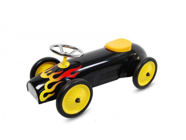 Педальная машинка TVL SMALL FIRE (PM-TVSM-001-BLACK)