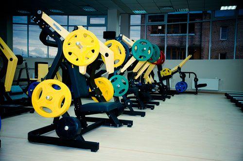 Олимпийские обрезиненные диски, серия ALEX P-RO P-TPU-5K