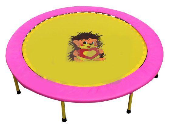 "Складной мини-батут 40"" диаметр 102 см (розово-желтый) (СГ000000262)"