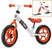 Беговел на лыжах Small Rider Combo Racer (Бело-оранжевый)